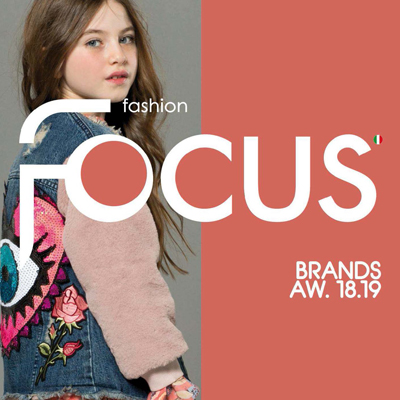 2018/2019秋冬意大利《Fashion Focus Kids》童装系列款式期刊