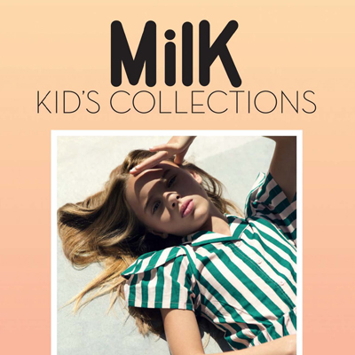 2018春夏法国《Milk Kid''s Collections》童装系列款式期刊