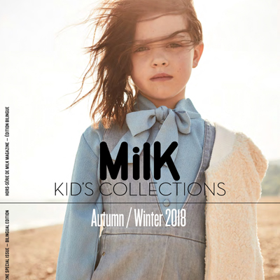2018秋冬法国《Milk Kid''''s Collections》童装系列款式期刊